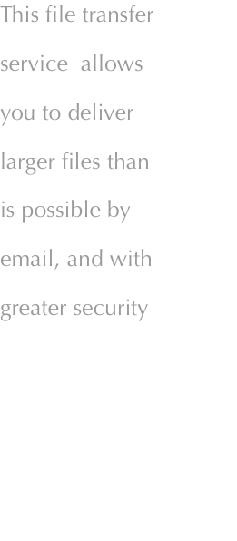 Transfer large printer files securely to Quorum